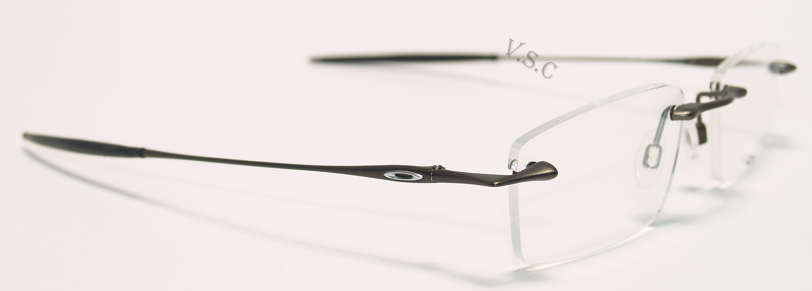 Rimless Glasses With High Prescription : OAKLEY 31THIRTEEN EYEGLASSES RIMLESS PRESCRIPTION EYE ...